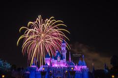 Disneyland Fireworks Show - 4745 (DaisyYeung) Tags: show california ca usa castle night photography nikon colorful long exposure time fireworks disneyland disney daisy anaheim nikkor yeung 1024mm d7000 daisyyeung daisyeung