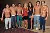 Billi Mucklow, Cara Kilbey and the Dream Idols 'Magic Mike' European Premiere-Mayfair Hotel, London, England