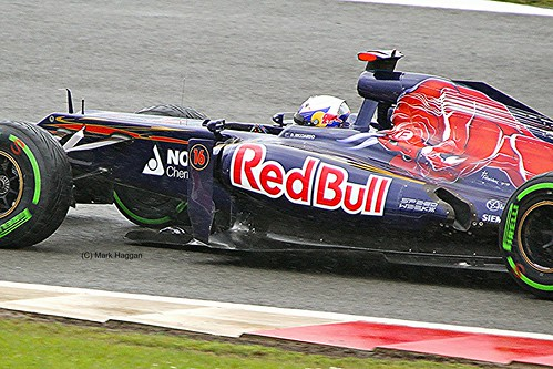 Daniel Ricciardo at Silverstone