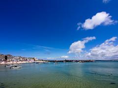 A Sunny Day in Cornwall (nosha) Tags: ocean uk summer beautiful beauty cornwall july olympus shore omd 2012 lightroom nosha em5 lumixgvario714f4 summer2012 olympusem5 asunnydayincornwall stivescornwallunitedkingdom
