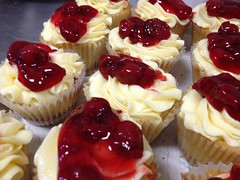 """The New York Cheesecake Cupcakes (Sweet Ambrosia BakeShoppe) Tags: birthday christmas family pink flowers blue winter wedding friends boy red party summer blackandwhite food orange woman baby brown white holiday snow canada man black flower green art fall halloween girl cookies fashion yellow glitter vintage silver shower happy corporate gold cupcakes photo 3d spring purple chocolate anniversary tan valentine sugar desserts sparkle event lilac regina saskatchewan bridal modelling couture sculpted decorated fondant tiered gumpaste sweetambrosiabakeshoppe """"sweetambrosiabakeshoppe""""cake wwwkimandashleescom kimandashleessweetambrosiabakeshoppe"""