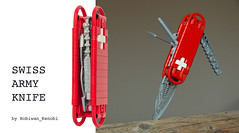 Swiss Army Knife on Cuusoo (Robiwan_Kenobi) Tags: army lego swiss knife technic weapon bionicle utensil tool sak cuusoo robiwankenobi