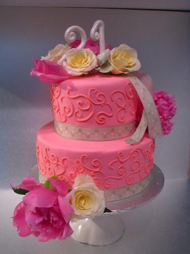 21st Birthday Pretty in Pink