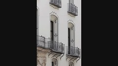 Valencia, balconies, bay windows and fencing (the_riel_thing) Tags: valencia spain balkon espana balconies fencing spanje balustrade baywindows erker hekwerk