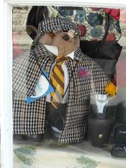 Sartorial Ted (Munki Munki) Tags: bear teddy specs helmsley cape barbour wellies shopwindowdisplay sartorial