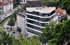 Büroneubau an der Kreuzstraße Bielefeld (Stefan_68) Tags: germany deutschland town bürogebäude stadt nrw gebäude nordrheinwestfalen bielefeld northrhinewestphalia kreuzstrasse