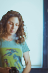 sometimes friends can help you see who you are (damiec) Tags: light reflection window bokeh sp xxoo newfavorite coolestshirtever bluronpurpose nowyou thankyoucara