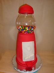Bubble Gum machine cake by Christine S, Twin Cities MN, www.birthdaycakes4free.com