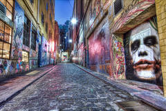 Hosier Lane - The Joker (re-processed)  2012-06-23 (_MG_9694_5_6) (ajhaysom) Tags: