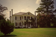 southern delight (History Rambler) Tags: old house film home analog rural northcarolina southern plantation vacant archives antebellum johnstoncounty greekrevival