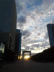 La Defense (Paris) at sunset (2)