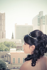 Quinceanera session-56 (Karina Franco Wedding Photography) Tags: birthday pink roof girl sunglasses lady youth ramp chica dress balcony young 15 teen hispanic latina diva quinceanera