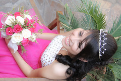 Quinceanera session-8 (Fearless Wedding Photography) Tags: birthday pink roof girl sunglasses lady youth ramp chica dress balcony young 15 teen hispanic latina diva quinceanera