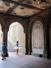 En pointe (_jwong) Tags: nyc newyorkcity ballet en ny newyork ballerina centralpark dancer wanderlust pointe bethesda bethesdaterrace enpointe s95 canonpowershots95