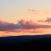 sunset clouds over Stirlingshire from Fallin