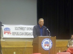 Speaking in front of the SouthWest Broward Republican Org 1