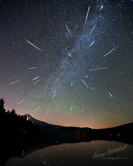 Perseid Meteor Shower 2012 (Gary Randall) Tags: sky night oregon stars mthood mounthood milkyway perseid perseidmeteorshower persius