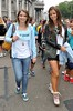 Vogue Williams, Amber Williams at March for Marriage 12th August 2012