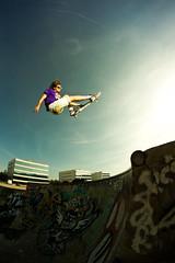 Some style... (EsteveSegura) Tags: wow photo amazing snake aerial nicolas indie trick melon sergi aereo segura esteve truco grap increible streetboard stelfish