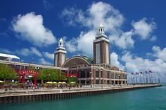 Navy Pier - Chicago (masMiguel) Tags: chicago pentax navypier polarizer k5 sigma1750mm28lens