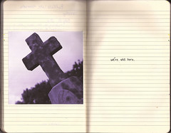 - (Tangie Ray) Tags: art moleskine grave graveyard tombstone journal tangieray