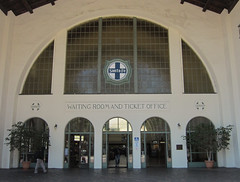 San Diego Santa Fe Depot (3452) (DB's travels) Tags: california railroad santafe architecture sandiego amtrak depot coaster tempcrr