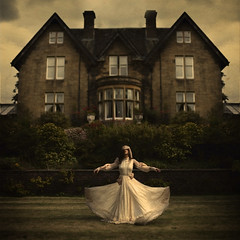 moving house (brookeshaden) Tags: scotland glasgow surrealism eerie creepy fineartphotographer brookeshaden