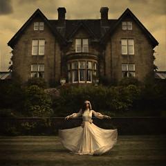 moving house (brookeshaden) Tags: scotland glasgow surrealism eerie creepy fineartphotographer brookeshaden