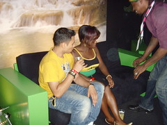 Eastenders in Jamaica House - Olympics 2012 (bbcworldservice) Tags: world london games bbc service olympic olympics 2012