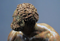 Apollonius, Boxer at Rest, detail with back of head