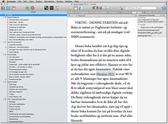 Scrivener - bokprosjekt
