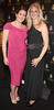 Paula Delaney and Caroline Hosey pictured at the opening of Wilde Bar Club and Venue in Wicklow Street,Dublin..Pic Brian McEvoy
