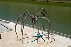 Spider - Guggenheim Bilbao (Sergio Romiti) Tags: sergio museum spider spain bilbao guggenheim museo spagna ragno romiti luisebourgeois sergioromiti