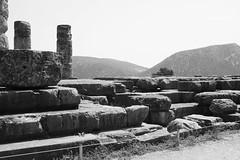 Delphi (Δελφοί) Greece, Aug 2012. 05-158 (megumi_manzaki) Tags: archaeology greek ancient delphi greece worldheritage delphoi