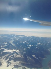 Mountains on the southern tip of Greenland