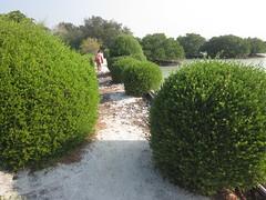 Jalan menuju Privat Pari Island