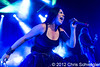 Evanescence @ Carnival Of Madness Tour, DTE Energy Music Theatre, Clarkston, MI - 08-24-12
