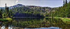 Rachelsee Panorama (Helmut Reichelt) Tags: leica germany deutschland bavaria nationalpark rachel m9 niederbayern bayerischerwald leicaelmarit28mmf28iii rachelsee hdrefexpro
