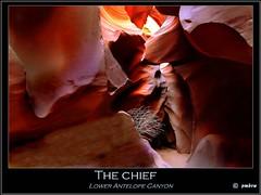 The chief (pharoahsax) Tags: world arizona usa get southwest colors rock america bush chief canyon page antelope lower slot amerika tumbleweed busch 2012 sdwesten worldgetcolors