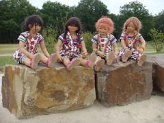 Rolling Stones (Kindergartenkinder) Tags: dolls sommer kindra tivi setina annettehimstedt kindergartenkinder himstedtkinder sanrike naturbadolfen