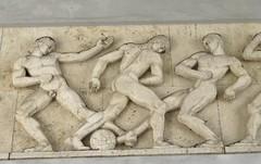 Frieze Detail (cohodas208c) Tags: sculpture frieze relief detail classical classicism athletes publicart sterbrostadium copenhagen