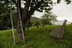 ... (Emanuele Pansecco) Tags: giardini montagna albero scala panchina prato d300 bench tree garden nikon mountain montaldo mondovi agriturismo