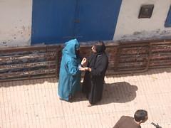 Gossip (ivi c) Tags: street people blue morroco