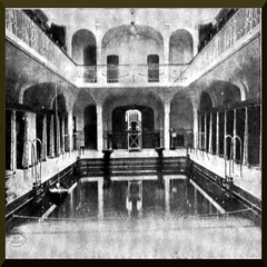 Guenz Bath house (Dresden, Germany) (ptlb0142) Tags: shower bath bathhouse swimmingpool bathtub tub history swimming pool houses