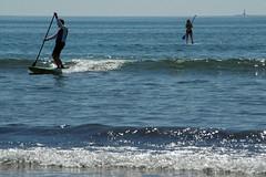 2016-07-27 - Long Sands Beach - York  (24) (Paul-W) Tags: longsandsbeach york maine beach sand waves sun ocean surf sky 2016 paddleboard boonislandlight