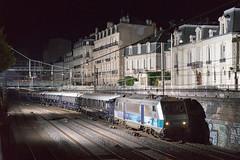 25082016-7375 - SNCF - BB26164 @Nancy (rino54) Tags: sncf bb26000 france cheminsdefer trains vsoe orientexpress envoyage sybic flash nuit night nancy lorraine godox a7ii