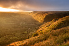 Exe Valley Sunrise 06 (Photograferry) Tags: exmoor nationalpark uk southwest england outside nopeople landscape nature 2016 exe valley sunrise dawn simonsbath moorland morning sunlight warmth clouds