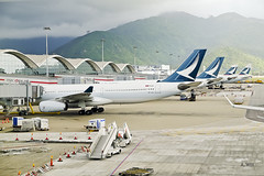 New Cathay Pacific liveries (A. Wee) Tags: hongkong hkg airport   china   cathaypacific airplane jet