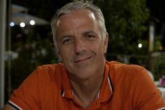 Erasmo Sabatini (Osservazioni al Mercato) Tags: face faccia panasonic lumix lx100 color portrait italy restaurant mimmo