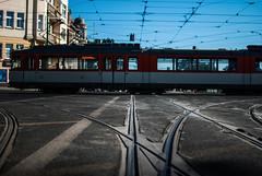 Communication #22 (ewitsoe) Tags: tram city transit train rail railway lowdof ewitsoe nikon d80 35mm street summer bimba poznan poland polska 22 line tramline europe adventure trave tourism traveler travel traveling
